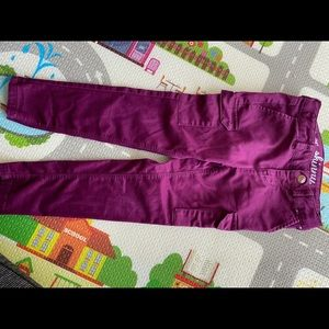 Gymboree super skinny cargo pants